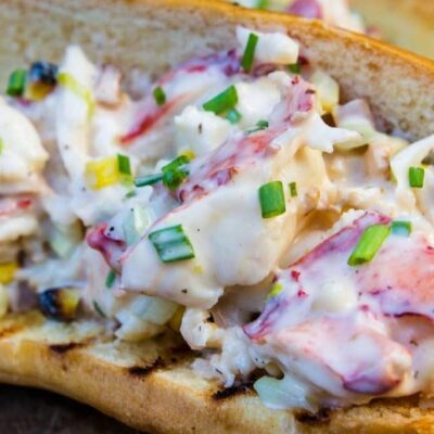 Chicago Style Grilled Lobster Rolls