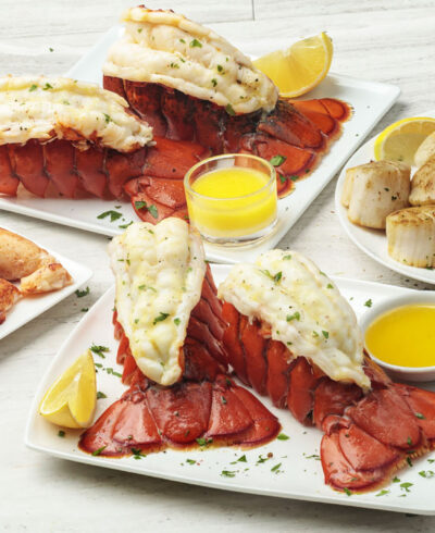Seafood Trio for Four and More